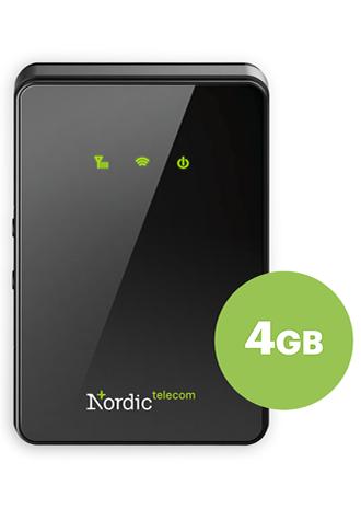 LTE mobilní data 4GB